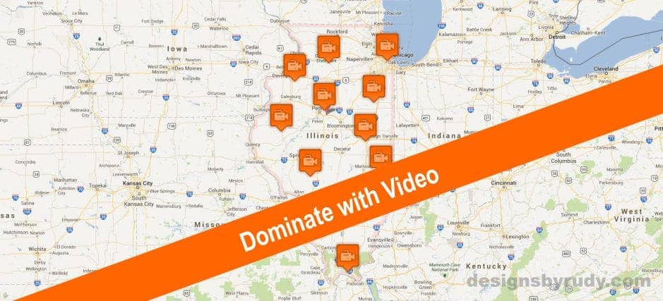 Dominate local market with video marketing - designsbyrudy