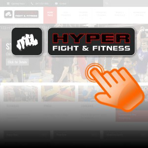Boxing and Fitness Club Website Design