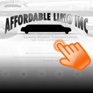 Local Limousine Company Website Design and Promotion
