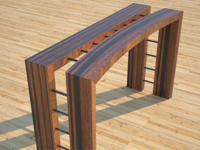 Wood Console Table – Contemporary Furniture Designs