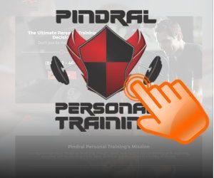Personal Trainer Responsive Website Design