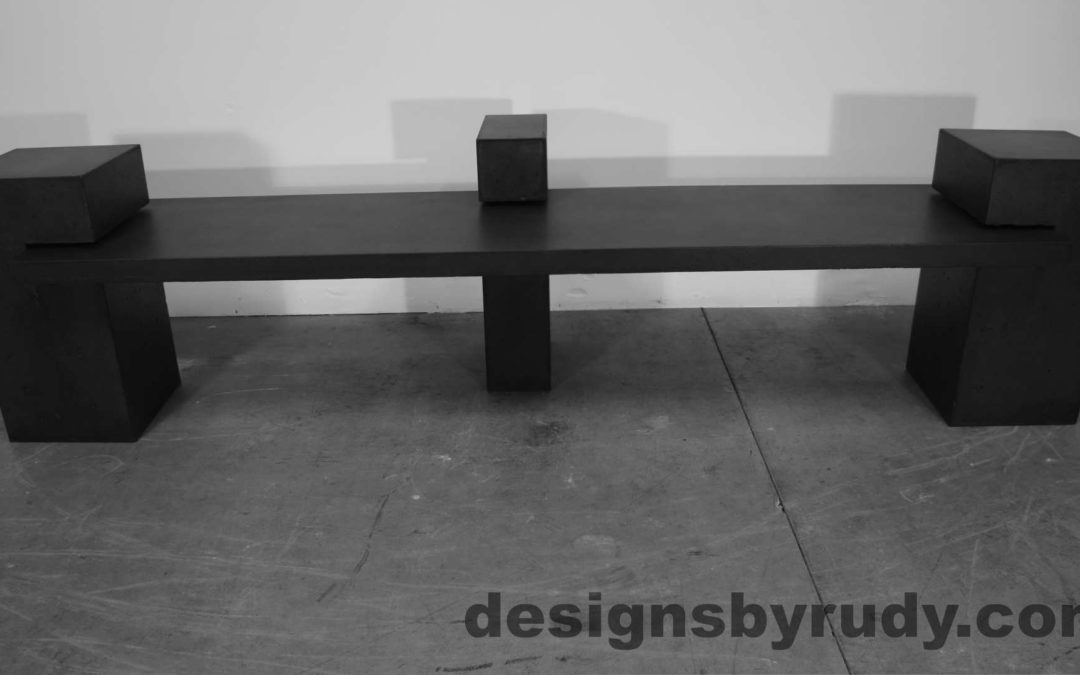 Concrete Bench DR CB1 Gallery