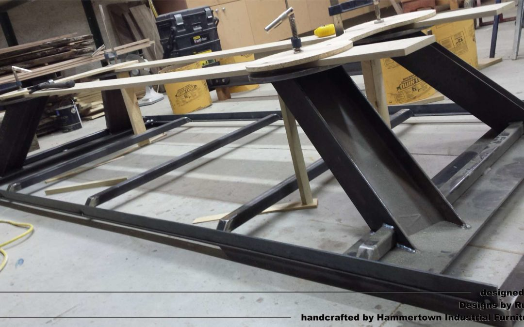 Custom Conference Room Tables | Concrete, Steel, Wood
