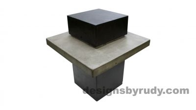 Bon DR CB1ST2 Concrete Side Table, Outdoor Concrete Furniture
