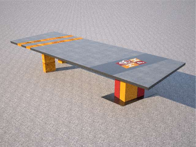 Boardroom Table Design for HDCH in Canada