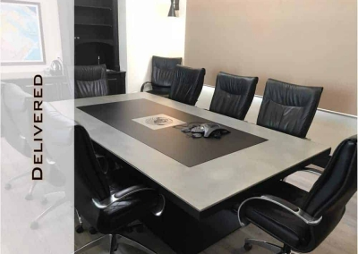 Boardroom and Coffee Table Design for NAC by Designs by Rudy