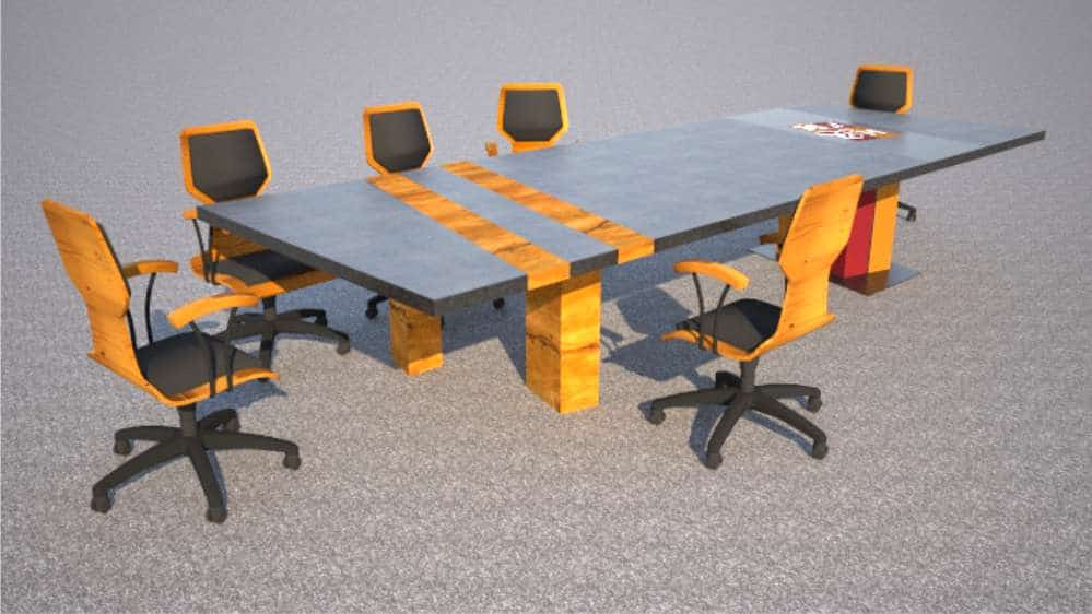 Boardroom Table Design for HDCH by Designs by Rudy