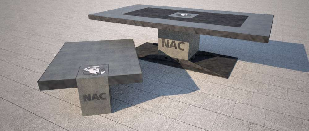 Boardroom and Coffee Table Design for NAC in Canada